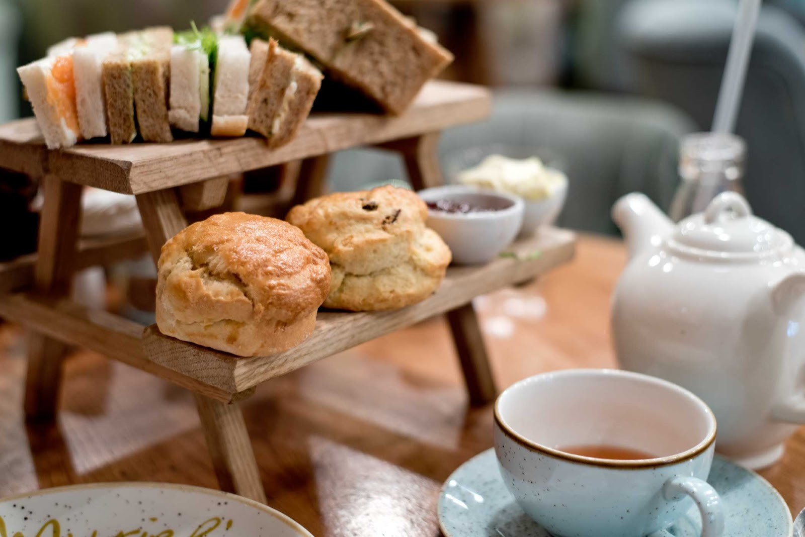 London, afternoon tea, muriel's kitchen