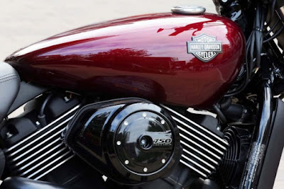 2017 Harley-Davidson Street 750 engine