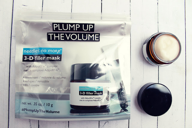 Needles no more 3-D filler mask