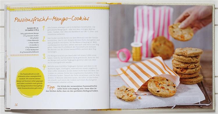 Rezension/Buchvorstellung knusperreich Cookies 2