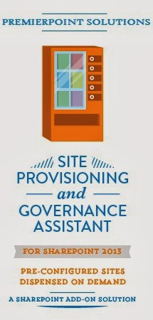 Site Provisioning and Governance Vending Machine