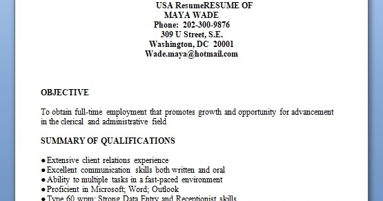 reprographics associate sample resume format in word free