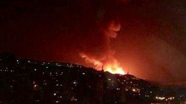 Syria Blames Israel for Strike Near Damascus; Target Was Iranian Missiles Aimed at Israel