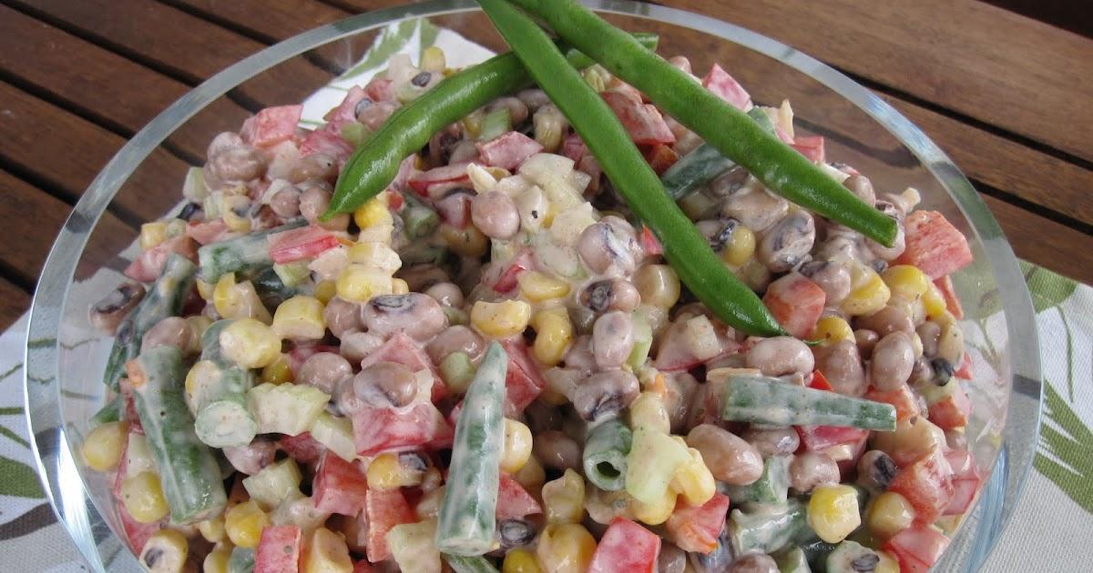 Kokkeillaan: Papu(-kinkku)salaatti cajuntyyliin
