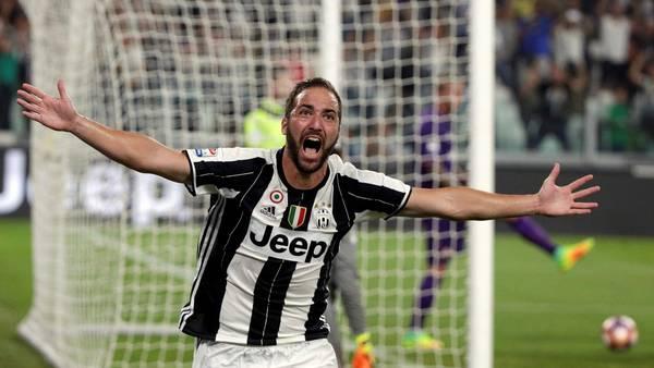Juventus enfrentará al Sevilla sin Higuaín