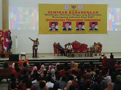 Universitas Teknokrat Indonesia Gelar Seminar Kebangsaan