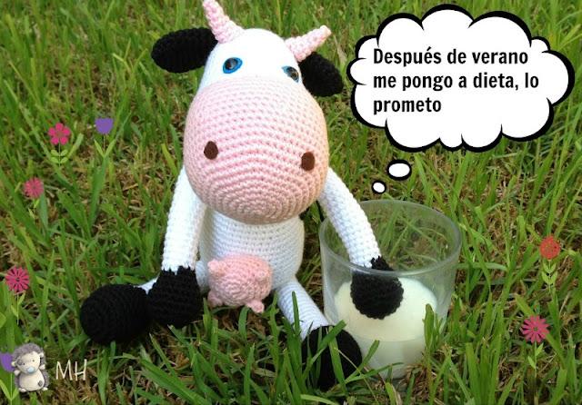 vaca-amigurumi