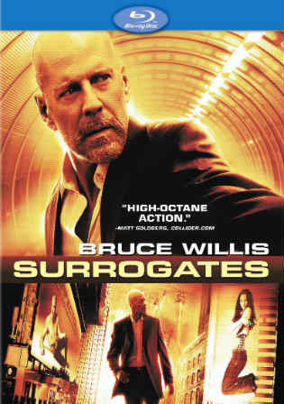 Surrogates 2009 BRRip 300Mb Hindi Dubbed Dual Audio 480p Watch Online Full Movie Download bolly4u