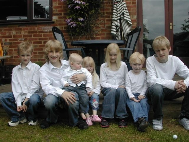 mum with 7 children