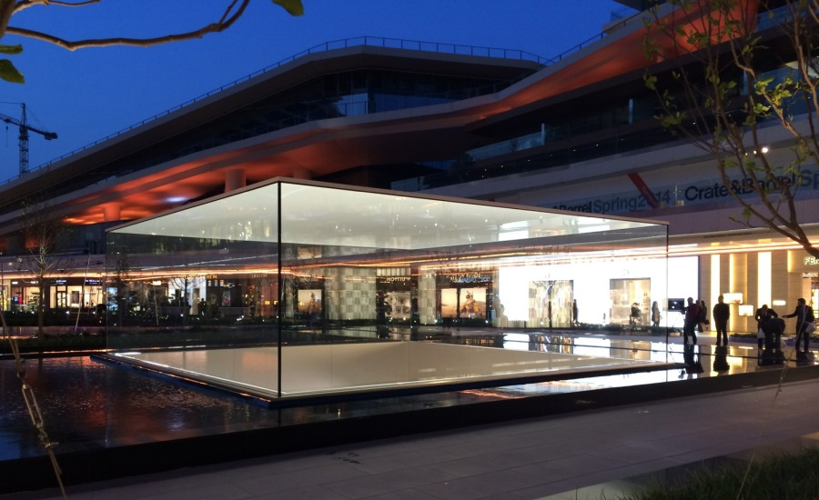 Apple Store en Zorlu, en Turquía - por Eckersley O'Callaghan