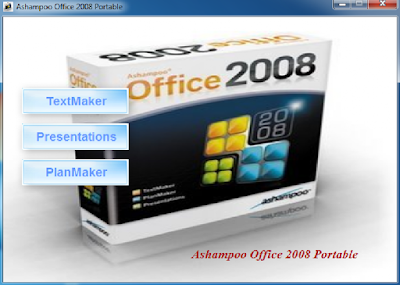 ASHAMPOO OFFICE 2008 PORTABLE EM ESPANHOL