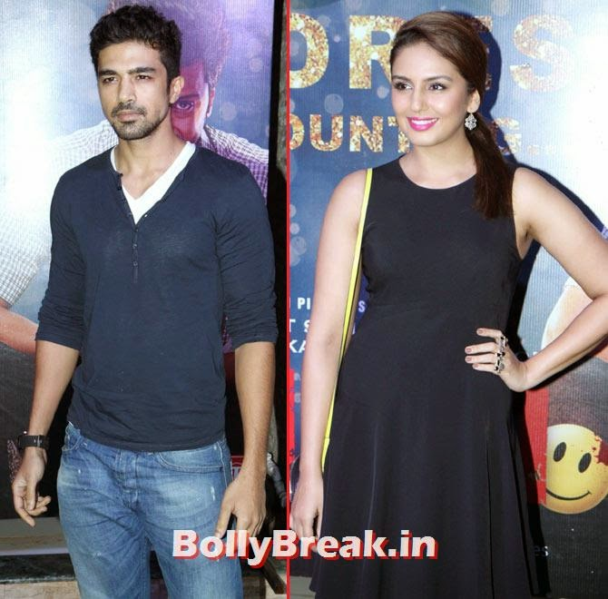 Saqib Saleem and Huma Qureshi, Alia, Sonakshi, Shraddha party with Ek Villain team