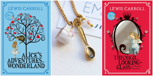 Alice in Wonderland Books & Necklace Giveaway
