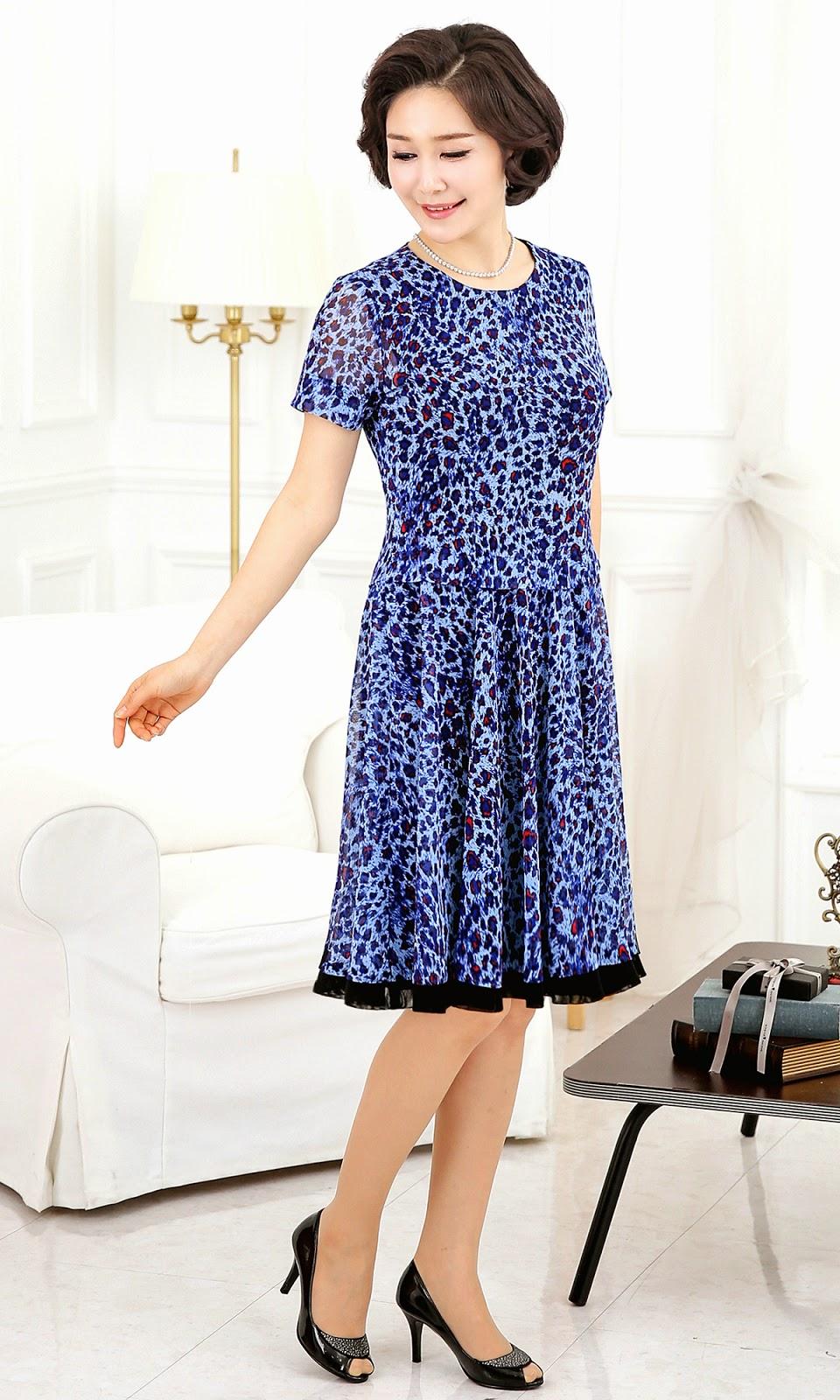 Middle-Agedolder Womens Fashion Clothing Apparel-4297