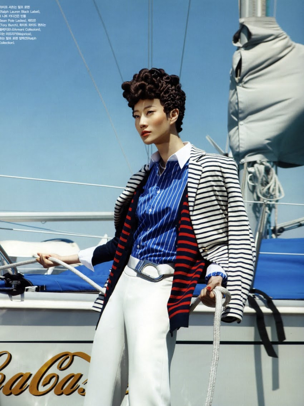 nautical fashion photography
