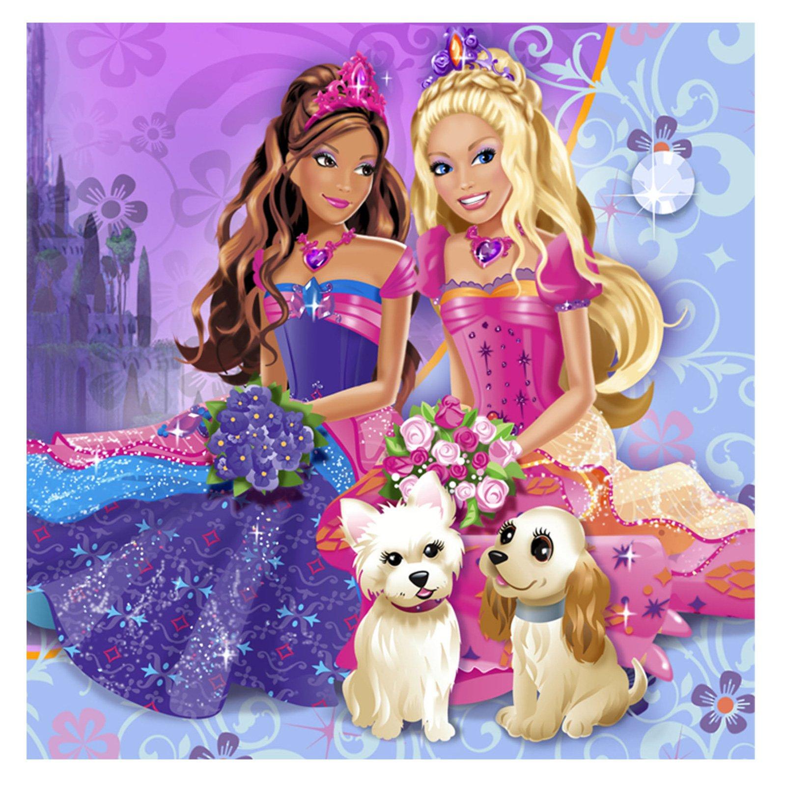 Cartoon Barbie Wallpaper