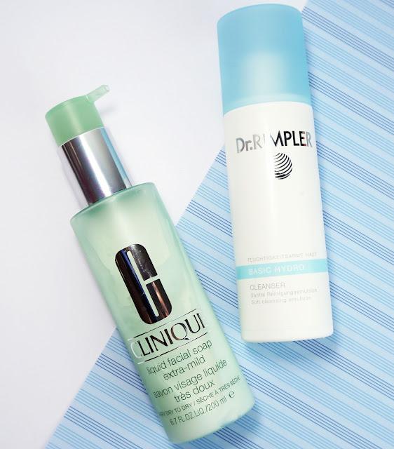 Clinique - Liquid Facial Soap Extra-Mild, Dr. Rimpler - Basic Hydro Cleanser
