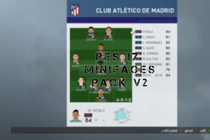 New Gameplan Minifaces V2 AIO - PES 2017