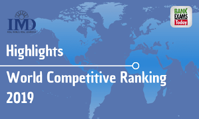 World Competitive Ranking 2019: Highlights