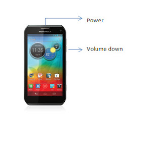 cara reset Hp android lewat tombol power dan volume down