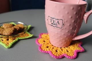 настроение своими руками, подставки под кружки, уютное чаепитие, чай, костерс, подставки, домашний уют, Яна SunRay