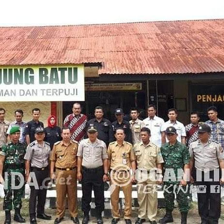 Polsek dan Panwaslu Tanjung Batu Deklarasikan Pemilu Damai 2019