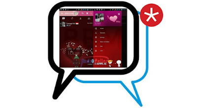 BBM Pink Love Base 3.0.0.18 Apk Terbaru Gratis
