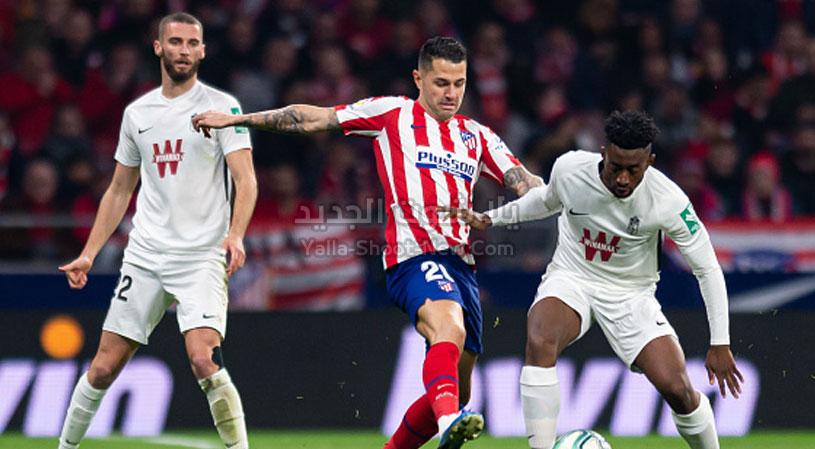 اتلتيكو مدريد يحقق انتصار صعب وهام على فريق غرناطة في الجولة 23 من الدوري الاسباني