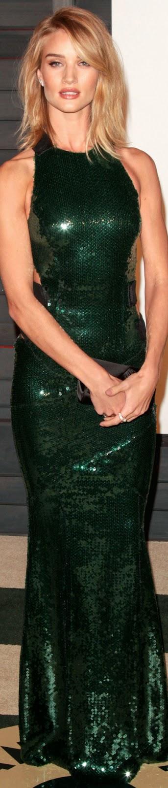 2015 Vanity Fair Oscar Party  Rosie Huntington Whiteley