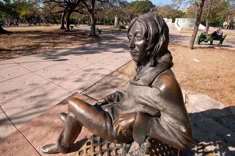 José Villa Soberón 1950 | Cuban Figurative sculptor | John Lennon Memorial | Cuba 2000