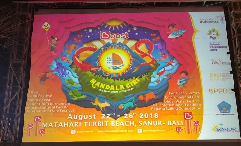 Mandala Giri dan Lembayung Bali di Sanur Village Festival 2018