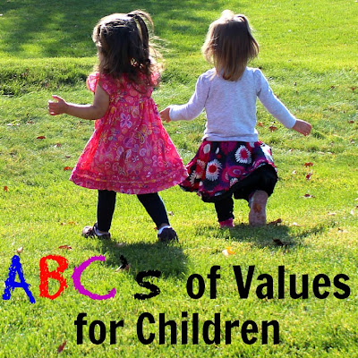 values for children