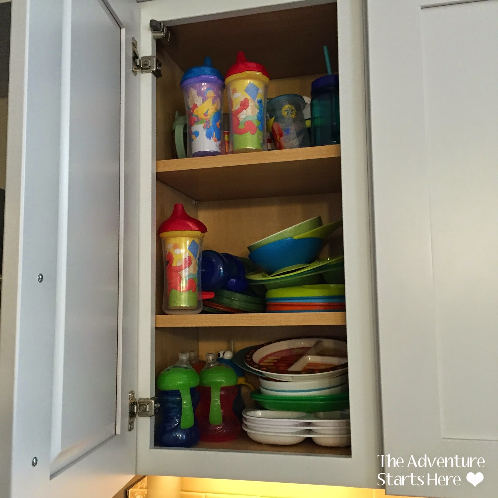 Messy Cups Plates: The Adventure Starts Here: An Organized Kitchen