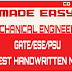 Made Easy Latest Handwritten Notes Mechanical For Gate 2020 Exam