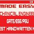 Made Easy Latest Handwritten Notes Mechanical For Gate 2020 Exam