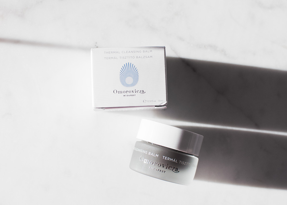 omorovicza thermal cleansing balm, omorovicza cleanser, omorovicza thermal cleansing balm mini