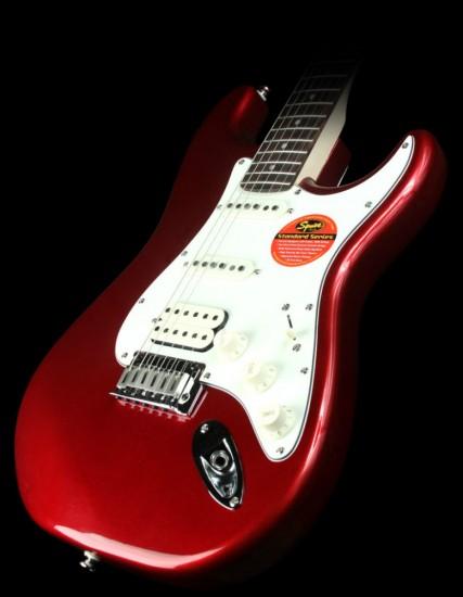 Đàn Guitar Điện Squier Standard Stratocaster HSS