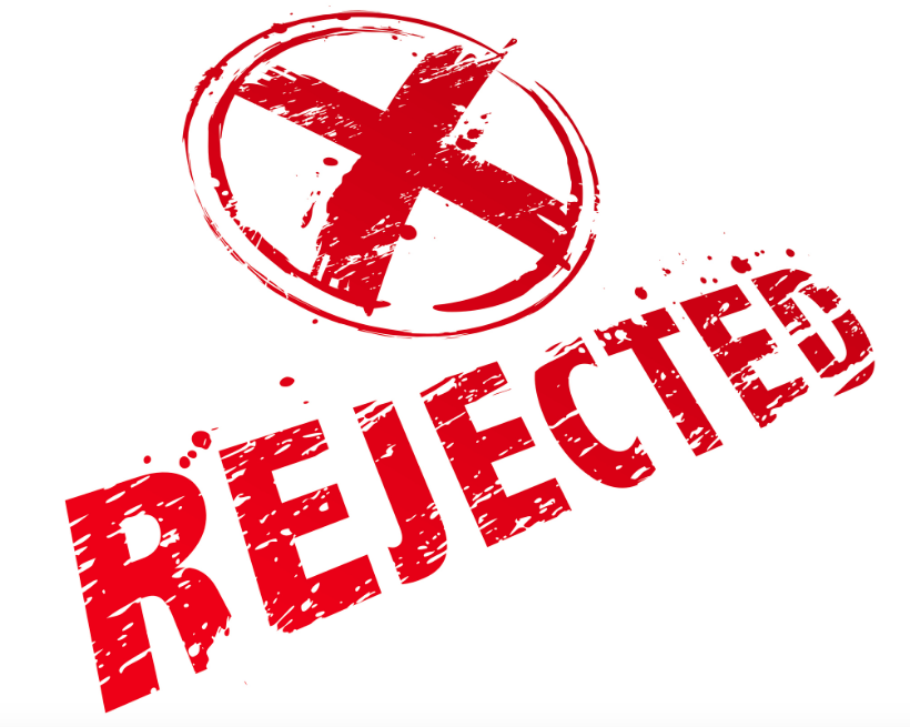 10 أشياء يجب القيام بها إذا تم رفض قبولك
