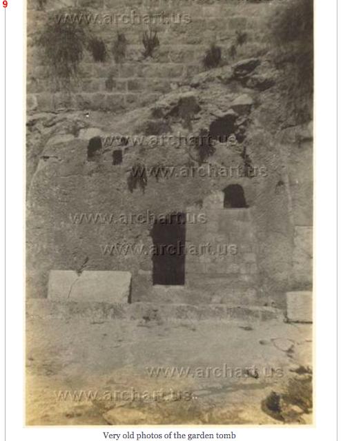 Garden tomb,
