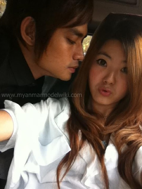 Celebrity Lifestyle - Myint Myat and His Girlfriend Selfies Shot