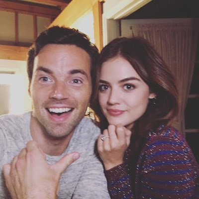Ian Harding talks about Ezria and A.D. Reveal Reaction on PLL