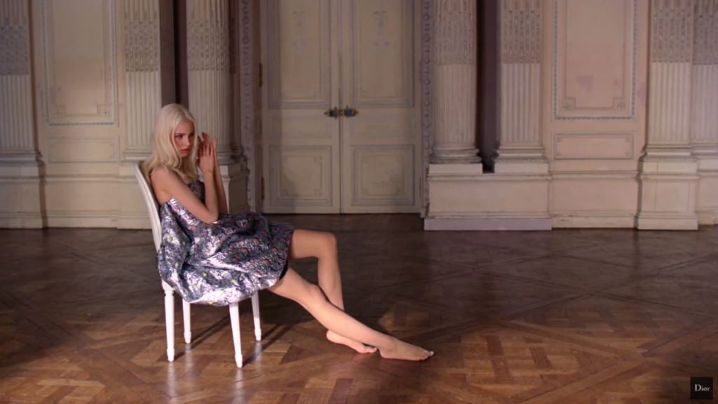 modella Pubblicità Dior Addict (profumo) 2016