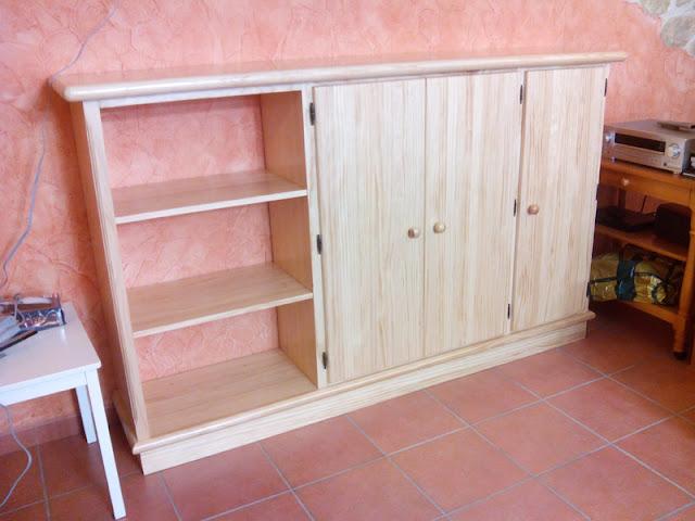 Mueble para bodega a medida en Zaragoza