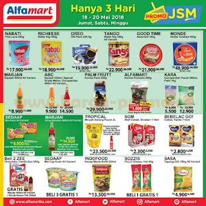 Promo JSM Alfamart 18 - 20 Mei 2018 Hanya 3 Hari