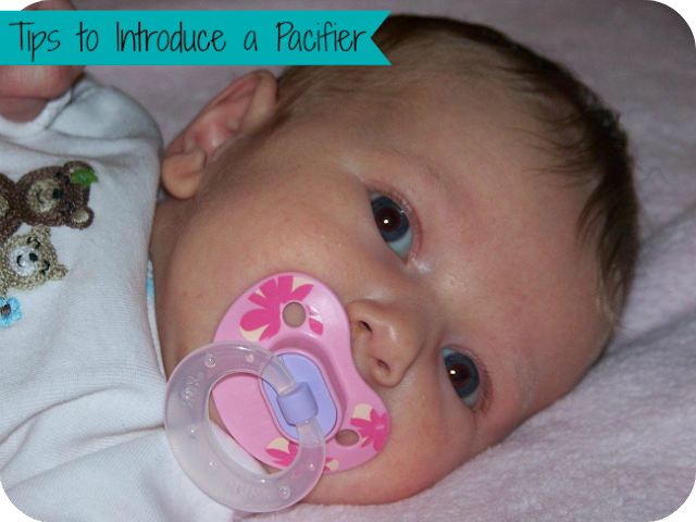 Tips to Introduce a Pacifier