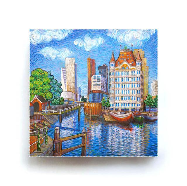 Rotterdam Het Witte huis Like Van Gogh