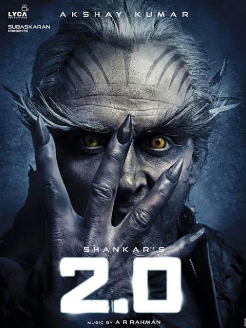 2.0 Poster Akshay Kumar Look