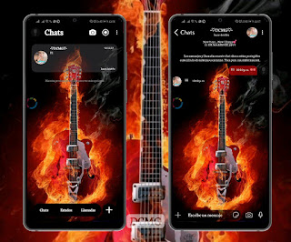 Guitar Theme For YOWhatsApp & Fouad WhatsApp By Glax