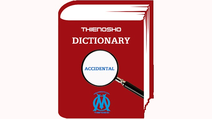 OSHOMEDITATION DICTIONARY - Accidental