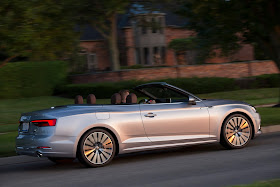 Side view of 2018 Audi A5 Cabriolet